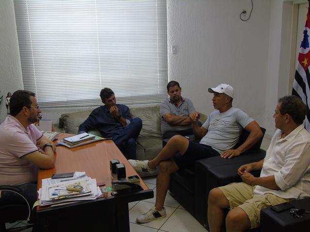693f8c60d002e O prefeito Cristiano Salmeirão recebeu na manhã desta quinta-feira
